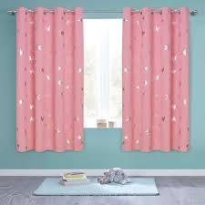 Nursery Blackout Curtains Kids Room Darkenings For Bedroom 63 Inches Long Twinkl For Sale Online Ebay
