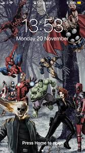 marvel iphone wallpapers on wallpaperplay