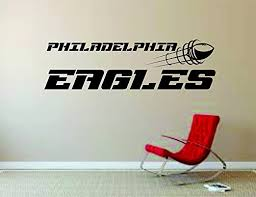 Amazon Com Philadelphia Eagles Wall Mural Vinyl Decal Sticker Decor Nfl Football Rugby Logo Home Kitchen