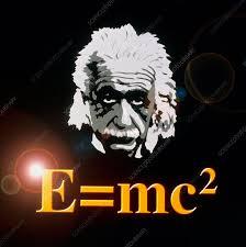 Computer artwork of Albert Einstein and E=mc2 - Stock Image - H405 ...