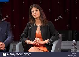 Roma, Italy. 13th Sep, 2017. Mayor of Rome Virginia Raggi Stock ...