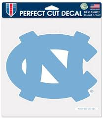 Amazon Com North Carolina Tar Heels 8x8 Die Cut Full Color Decal Made In The Usa Automotive