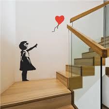 Banksy Balloon Girl Wall Vinyl Decal Sticker Londondecal