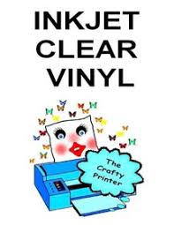 Inkjet Decal Paper The Crafty Printer
