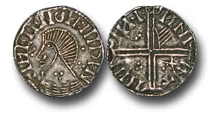 "IR1504 - Hiberno-Norse Kings of Dublin, Phase IVa Long Cross,  'Scratched-Die Coins"" (c.1060-c.1065), Penny"