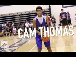 CAM THOMAS (2020) IS THE MAN AT OSCAR SMITH ALREADY!!! - YouTube
