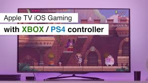 Use Apple TV like a console with Xbox One / PS4 Controller and Apple Arcade  - YouTube
