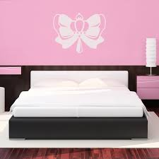Bow With A Crown Wall Decals