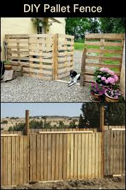Cheap And Cheerful Pallet Fencing Pallet Fence Building A Fence Pallet
