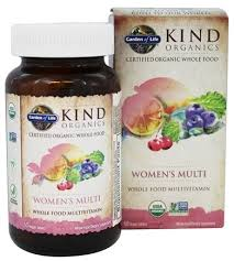 kind organics women s multi whole food
