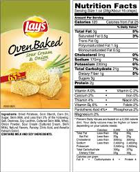 1 small bag of lays chips calories