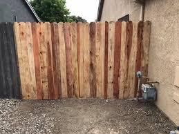 This 6 Redwood Dog Ear Solid Wood Fence Agin Custom Fencing Facebook