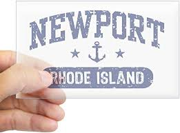 Amazon Com Cafepress Newport Rhode Island Rectangle Bumper Sticker Car Decal Home Kitchen