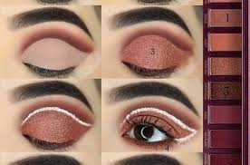 52 natural eye makeup step by step for