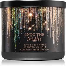 bath body works into the night bougie