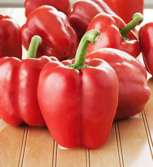 Image result for Red  bell Peppers ""