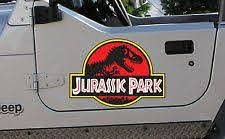 One Piece Decal Ebay Jurassic Park Jeep Park Jeep Jeep