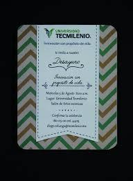 Invitaciones Para Desayuno Tecmilenio Escuela Desayuno
