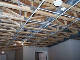 how to install suspended ceiling drop