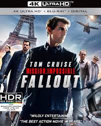 Amazon.com: Mission: Impossible - Fallout [Blu-ray]: Tom Cruise ...