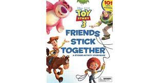 Friends Stick Together A Sticker Storybook By Walt Disney Company