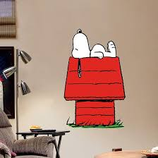 Snoopy Fathead Jr Snoopy Wall Decal Snoopy Wall Art Kids Room Wall Decals