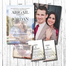 Abigail & Jordan Wedding Announcement on Behance