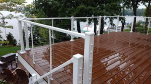 Skyline Cable Deck Railing System Building A Deck Deck Design Diy Deck