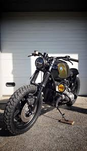 bmw r80 caferacer golden green