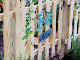 How To Build A Picket Fence Hgtv