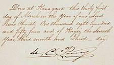 Kanagawa, Treaty of (or Perry Convention) | powellspenniesworth