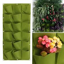 18 pocket vertical greening hang wall