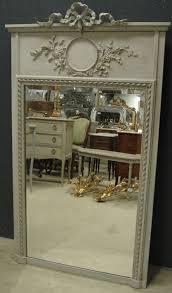antique french trumeau mirror 269613