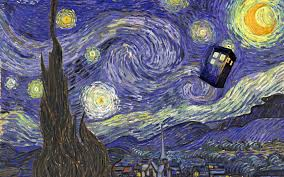 doctor who starry night wallpaper 53