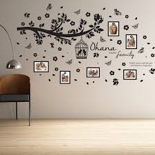 Ebern Designs Ohana Family Tree Wall Decal Reviews Wayfair