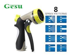 commercial grade metal hose spray