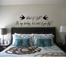 What If I Fall Oh My Darling But What If You Fly Wall Etsy