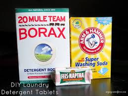 homemade laundry soap diy tablets