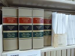 Law library books | United States Statutes at Large | Janet ...