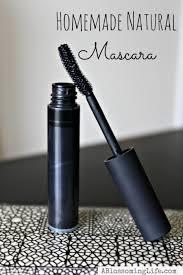 homemade mascara thicker longer lashes
