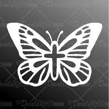 Best Buys On Butterfly Cross Car Truck Stickers