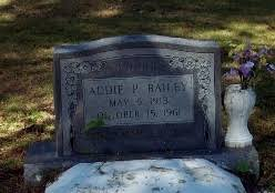 Addie Bailey (Perkins) (1913 - 1961) - Genealogy