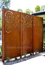 Customized S355j2w Welded Perforated Corten Steel Plate Manufacturers Suppliers Factory Direct Price Anhuilong