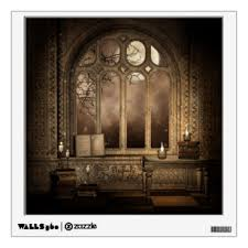 Gothic Wall Decals Stickers Zazzle