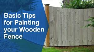 9 Basic Tips For Painting Your Wooden Fence Service Seeking