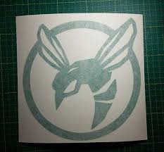 Green Hornet Symbol Vinyl Decal The Stickermart