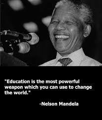 education nelson mandela famous quotes quotesgram