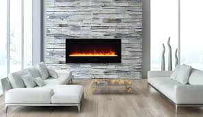 curved fireplace
