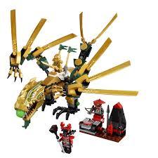 Bộ đồ chơi xếp hình rồng vàng LEGO NINJAGO 70503