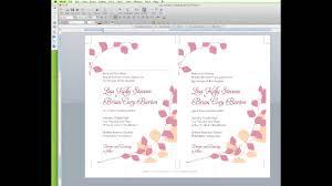 wedding invitation template in word